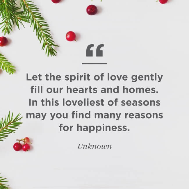 Lovely Christmas Quotes About Happiness