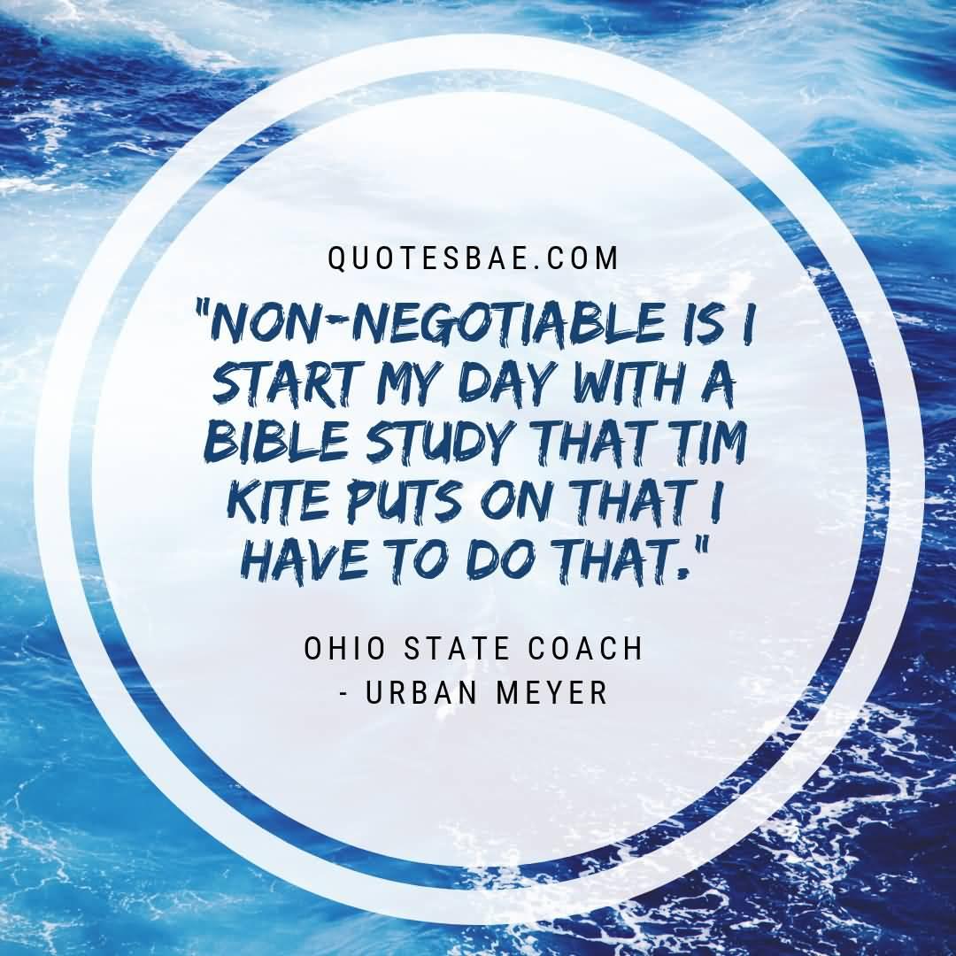 Urban Meyer Quotes On Faith 5