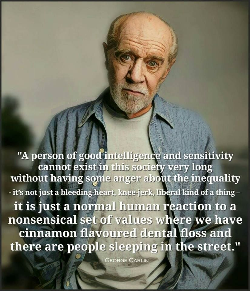 A Person Of Good George Carlin Quotes