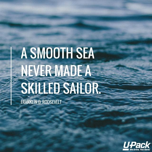 A Smooth Sea Never Good Bye Quotes