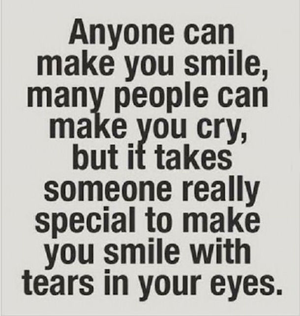 Anyone Can Make You Someone Special Quotes