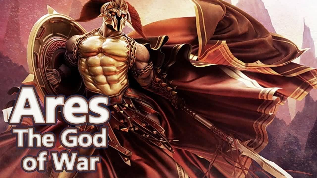 Ares - Greek God of War Of Greek Mythology