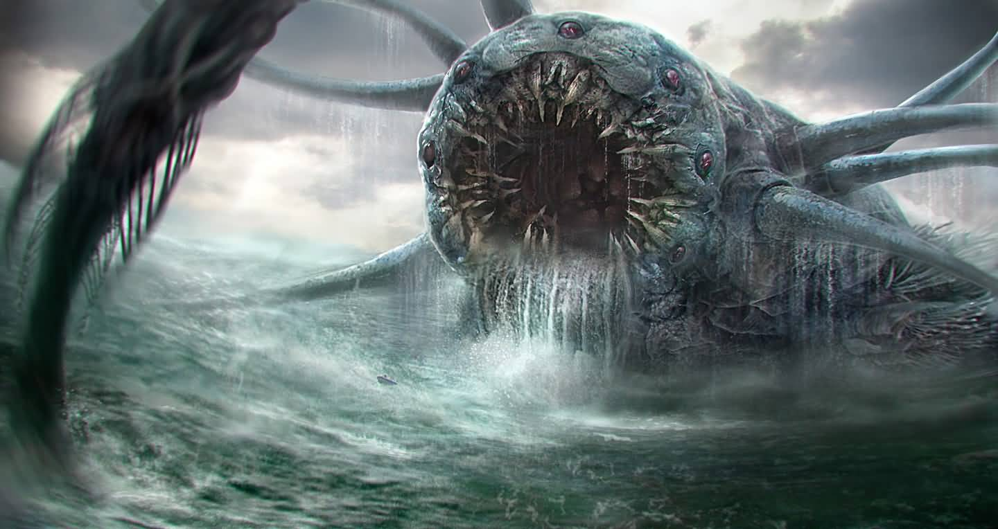 Charybdis - The Sea Monster Of Greek Mythology