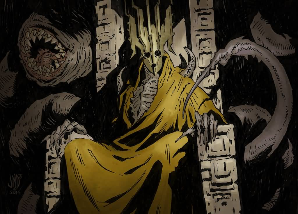 Hastur - The Unspeakable One From Cthulhu Mythology