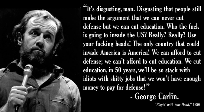 It's Disgusting Man Disgusting George Carlin Quotes