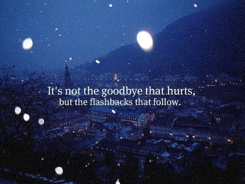 It's Not The Goodbye Good Bye Quotes