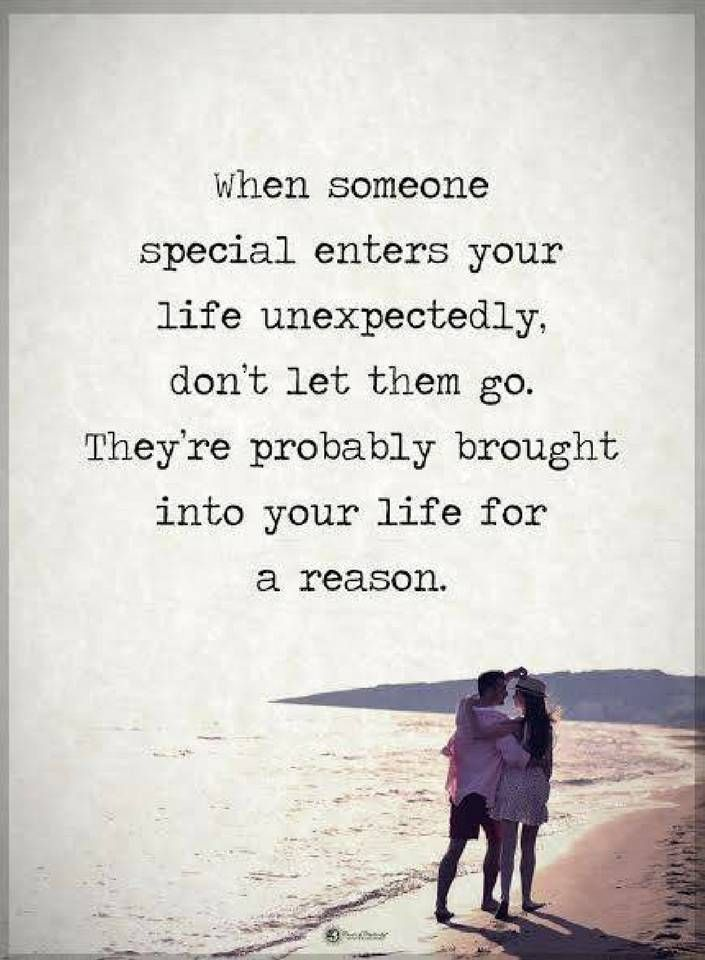 Life For A Reason Someone Special Quotes