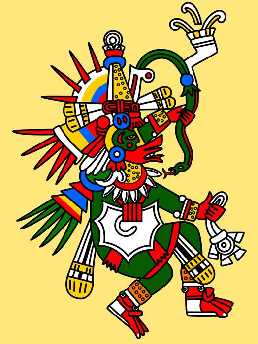 Quetzalcoatl The Feathered Serpent of Mesoamerican Religions