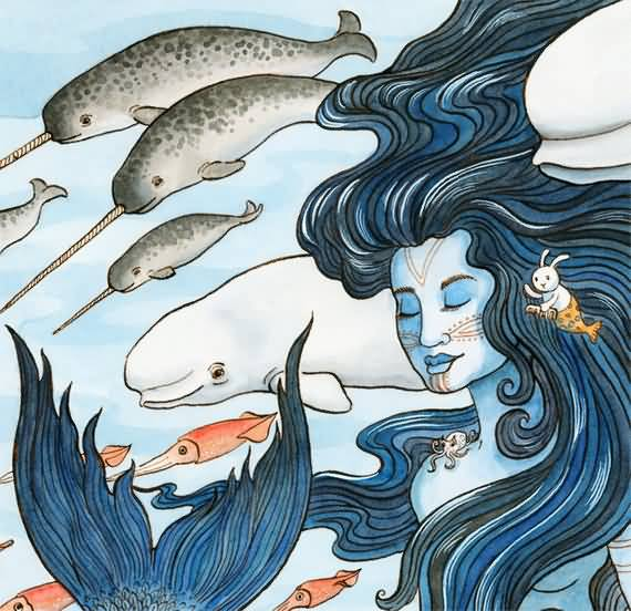 Sedna - Mother Of The Sea From Inuit Mythology