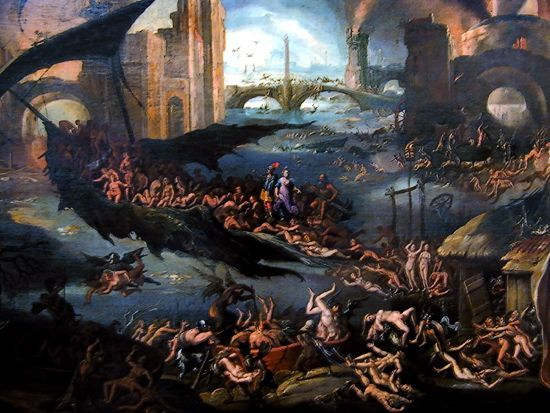 The Greek Underworld and It's Various Regions
