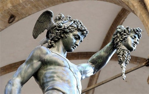 Why Athena Help Perseus To cut off Medusa's Head