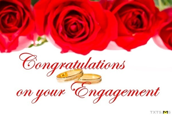 Lots Of Congratulations On Your Engagement Congratulations Engagement