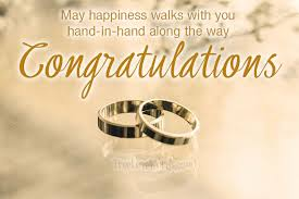 May Happiness Walks With You Congratulations Engagement