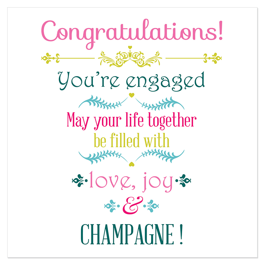 May Your Life Together Congratulations Engagement