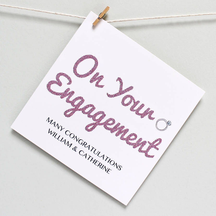 On Your Engagement Many Congratulations Congratulations Engagement