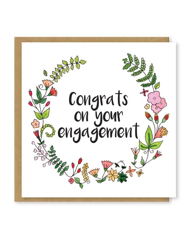 Very Congrats On Your Engagement Congratulations Engagement