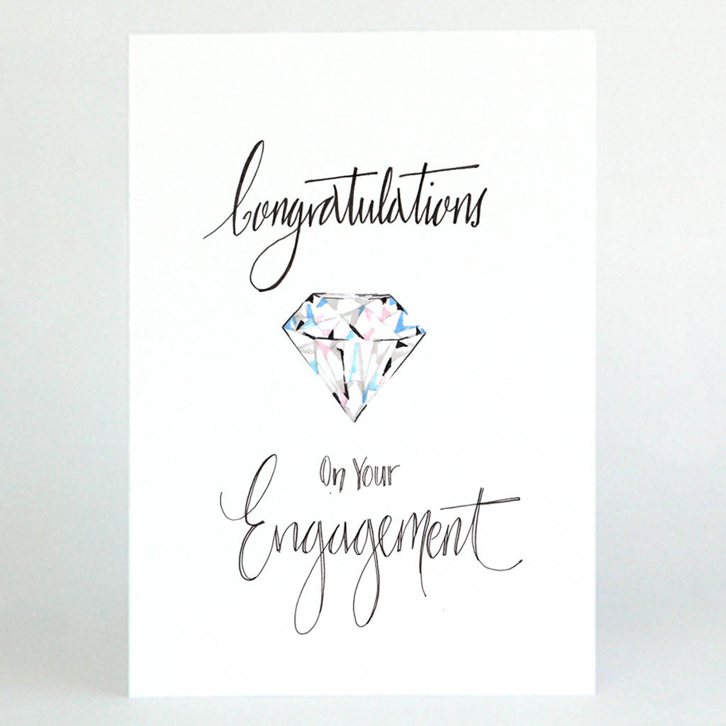 Wish You A Lovely Engagement Congratulations Engagement