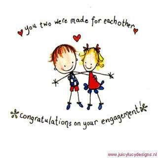 You Two Made For Each Other Congratulations Engagement