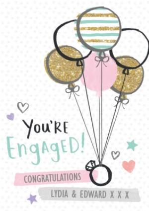 You're Engaged! Congrats Congratulations Engagement